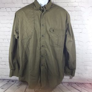 Browning Super Natural Men Cotton Shirt Size L/G